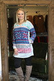 Soft Snowy Sweater Tunic