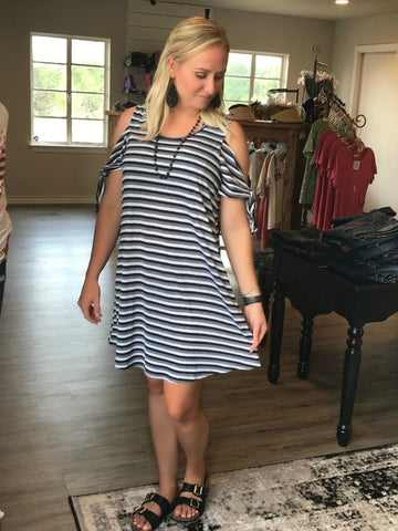 Tamara's Everyday Tie Sleeve Dress