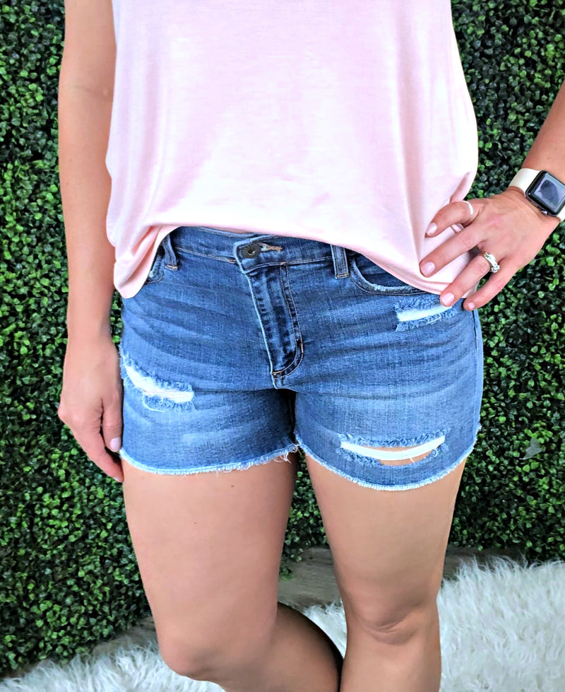 Donna Vintage Denim Shorts