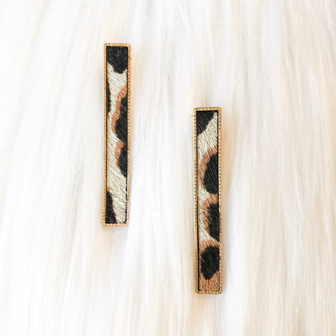 Skinny Rectangle Earrings