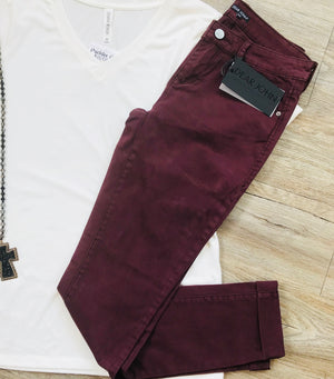 Dear John Perfect Plum Metro Jegging