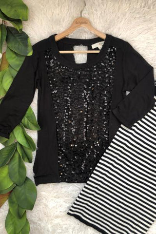 Say Yes Sequin Top