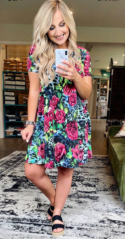 Wild About You Pocket Dress