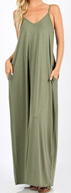 Simple Olive Maxi