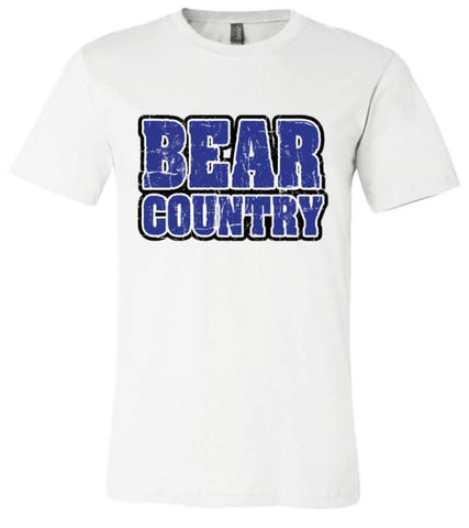 La Vernia Bears White Out Tee - Pre-Order
