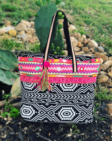Adventurous Amy Aztec Bag