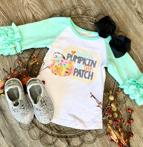 Cutest Pumpkin Ruffle Sleeve Tee
