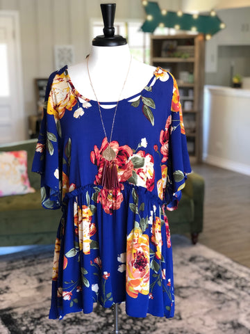 Royal Finest Floral Plus Top
