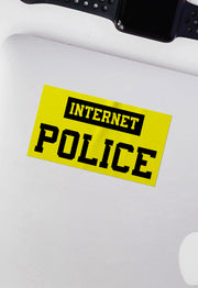 Internet Police Sticker