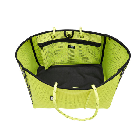Image of Neon Yellow Everyday Tote Bag