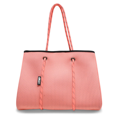 Image of Coral Pink Everyday Tote Bag