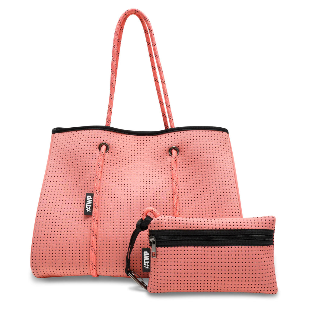 Coral Pink 'Everyday Tote'