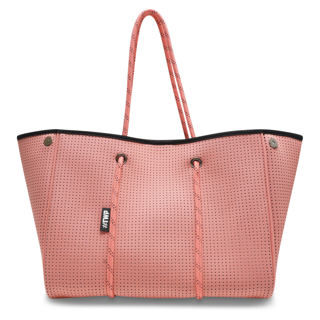 Coral Pink Everyday Tote Bag