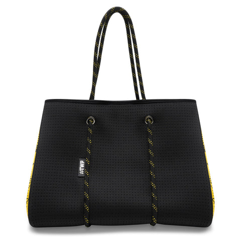 Black and Yellow Manchester Bee Everyday Tote Bag
