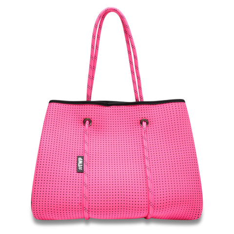 Image of Fuchsia Pink Everyday Tote Bag