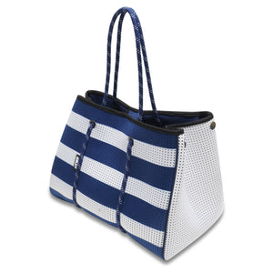Nautical Blue & White Everyday Tote Bag