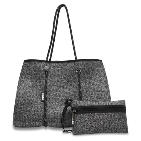 Image of Grey Marle Everyday Tote Bag