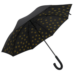 "Large Manchester Bee 23"" Umbrella - Yellow (INC DELIVERY)"