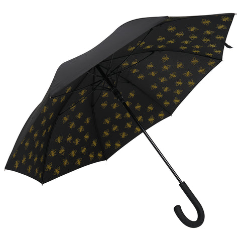 "Image of Large Bee 23"" Umbrella - Yellow (INC DELIVERY)"