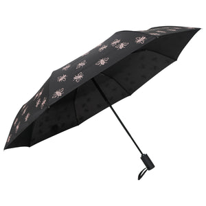 "Compact Manchester Bee 21"" Umbrella - Pink (INC DELIVERY)"
