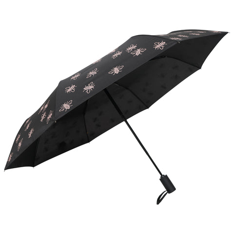 "Image of Compact Manchester Bee 21"" Umbrella - Pink (INC DELIVERY)"