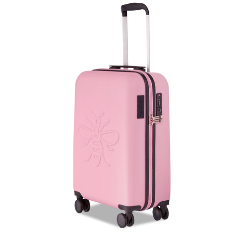 Image of Millennial Pink Manchester Bee - Set of Three Suitcases