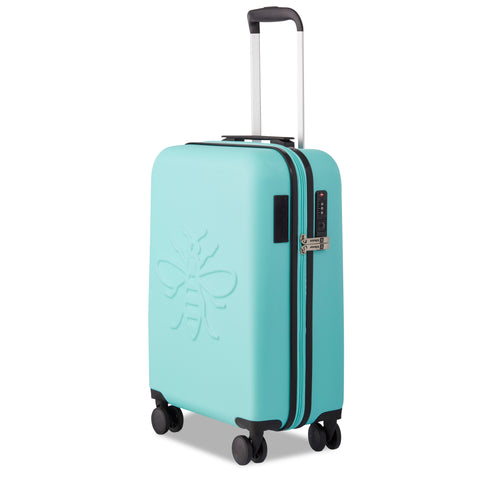 Premium USBee Set of Three Suitcases - Aqua