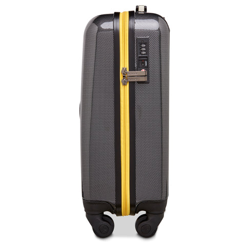 Image of Manchester Bee Yellow Zipper - Carbon Effect