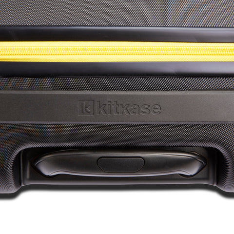 Image of Premium USBee Set of Three Suitcases - Black & Yellow