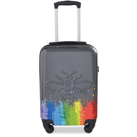 Image of Manchester Bee Rainbow Pride - Carbon Effect