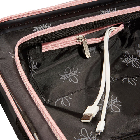 Image of Black & Pink USBee Cabin Case