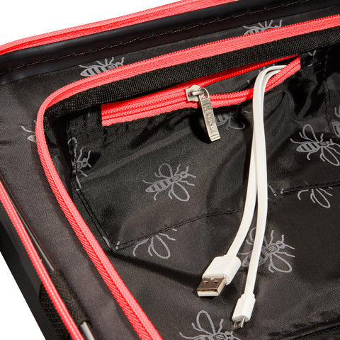 Image of Black & Red USBee Cabin Case