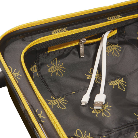 "Image of Black & Yellow 20"" USBee Travelcase"