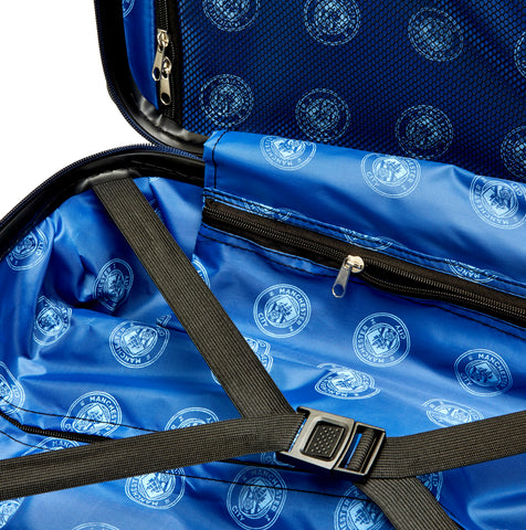 Image of Manchester City FC Cabin Case - Sky Blue Embossed