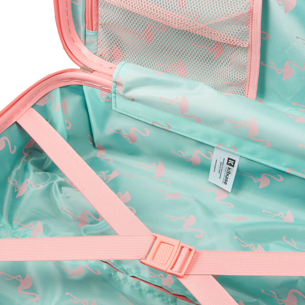 "Flamingo Pink 20"" USB Travelcase"