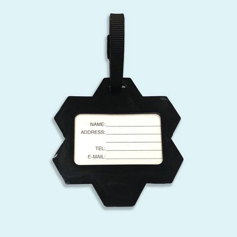 Image of Yellow MCR (Manchester) Bee Luggage Tag