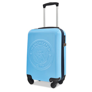 Manchester City FC Cabin Case - Sky Blue Embossed