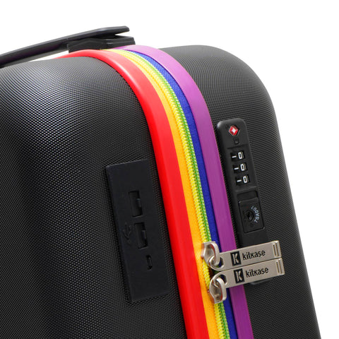 "Rainbow Bee 20"" USBee Travelcase"