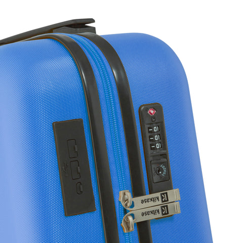 "Social Blue 20"" USBee Travelcase"