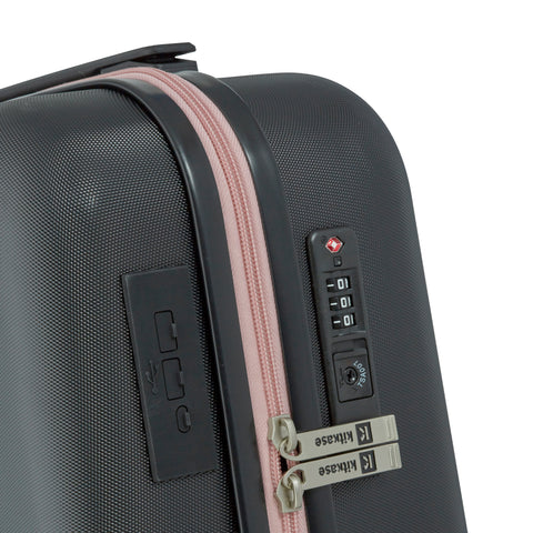 "Image of Black & Pink 20"" USBee Travelcase"