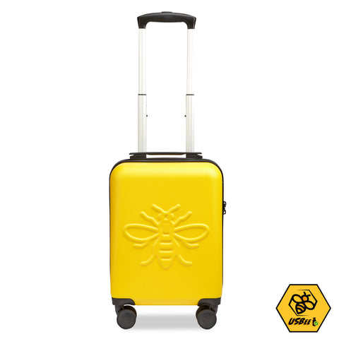 "Kids 16"" Mini USBee Case with charger port - Yellow"