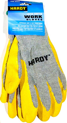 Work Gloves Latex Coated - Tire Repair Supplies - Texas Tire Supplies