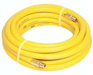 Yellow Air Hose 3/8 in x 50 Ft. (300 PSI) - Air Tools - Texas Tire Supplies