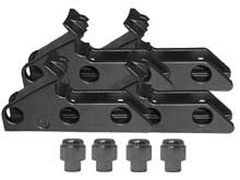 "3-Position Extended X-Clamp Kit  6""- 22"" (8 Pcs) - Tire Changer Accessories - Texas Tire Supplies"