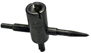 4-Way Valve Tool (Black) - Tire Repair Supplies - Texas Tire Supplies