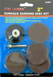 "Surface Sanding Disc Kit 2"" - Wheel Accessories - Texas Tire Supplies"