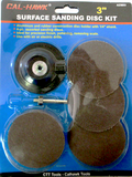 "Surface Sanding Disc Kit 3"" - Wheel Accessories - Texas Tire Supplies"