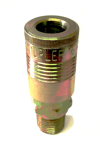 "Male Coupler 1/2"" - Air Tools - Texas Tire Supplies"