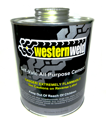 All Purpose Clear Cement 32 oz. / Case - Tire Repair Patches - Texas Tire Supplies