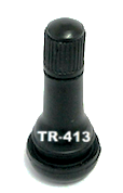 Snap-In Valve TR-413 (50 or 100 per Bag) - Tire Valves - Texas Tire Supplies